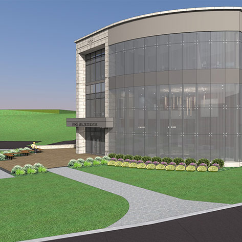 Lauring Construction begins 41,000 s/f Health Sciences Building at Assumption College